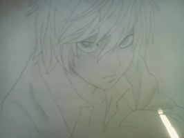 My drawing ~ Near (Death Note) by claudiavenged