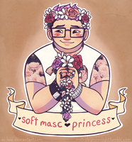 Soft-Masc Princess by Beedalee-Art