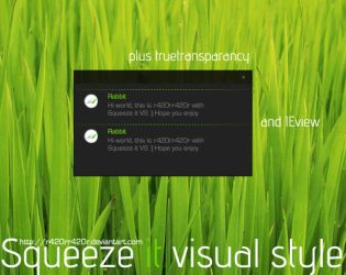 Squeeze it visual style by r420rr420r