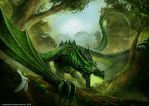 Guardian of the Forest by John-Stone-Art