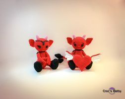 Little Devils in Love by Crocsbetty