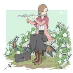 Flute Girl by aiyeahhs