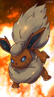 Day 558 - Booster | Flareon by AutobotTesla