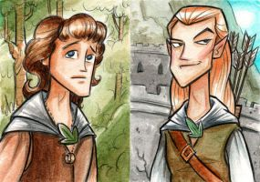 Heroes of the Fellowship by danidraws