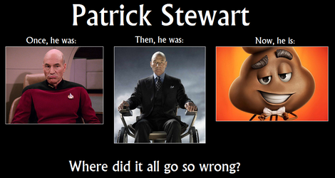 The Rise and Fall of Patrick Stewart by leinglo