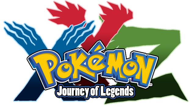 TuffTony's Pokemon XYZ - Journey of Legends Logo by AsylusGoji91