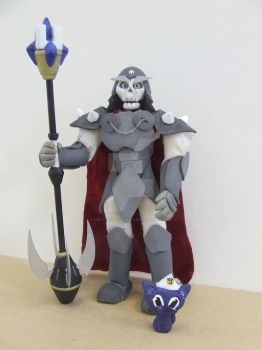 GALAXOR AND CAPTAIN DESTRUCTOR by Gir-the-piggy-lord