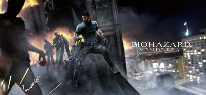 Biohazard Vendetta : Chris Redfield, the real one by LitoPerezito