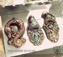 Preview Pendant by EnchantedTokenArt
