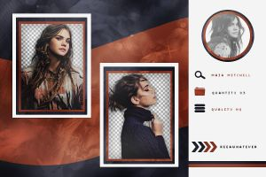 Pack Png 52 // Maia Mitchell by reeawhatever