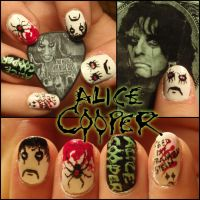 Alice Cooper nails 2 by Ninails