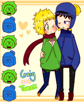 Craig and Tweek by TweekPark