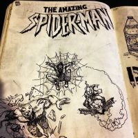 Spidey Doodles by mikefasano