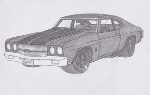 1970 Chevrolet Chevelle 454SS (Reboot) by jmig3