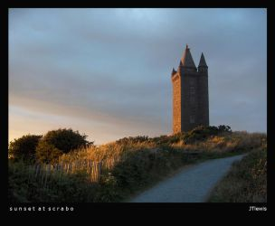 Sunset at Scrabo by jtlewis