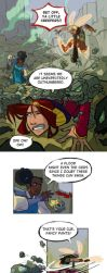 The Trium Report pg 1 by betsyillustration