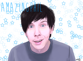 Starry Eyed Phil~ by LuCkYrAiNdRoP