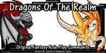 Dragons of the Realm: Art Banner by GoldenstarArtist