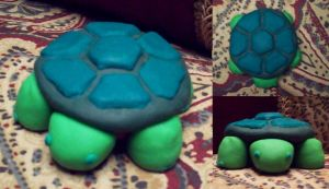 Clay Turtle by MadGoblin