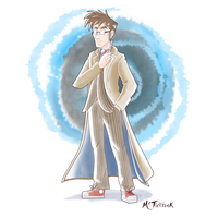Culture Doodle - DR. ALLONS-Y by McTicktock
