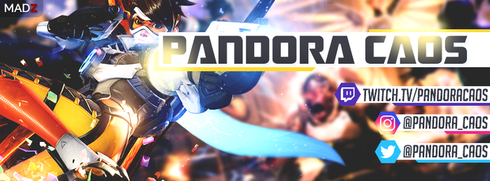 PANDORA CAOS Facebook Cover by lolmadz