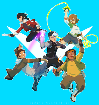 Voltron LD: Little Paladins! by SolKorra