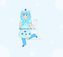 Magical Blueberry Girl Adopt (CLOSED!) by SugariSweetLolita