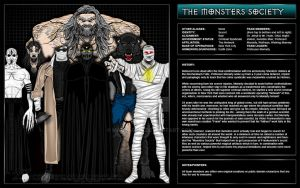 Monsters Society by MadJack-S