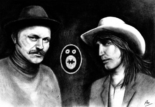 mighty boosh by Orbski