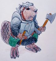 Beaver Concept for Redwall by Kiaserliche