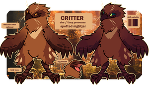 Critter | ref by vintagecoyote