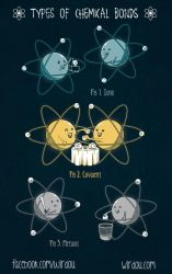 Types of Chemical Bonds by WirdouDesigns