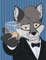 Cheers to you! by brighttail