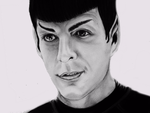 Clever Spock by Karlina101