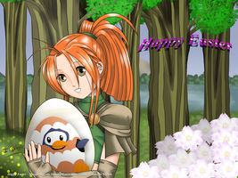 Happy Easter 2012 by StarlightMemories