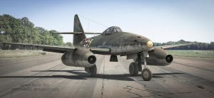 Messerschmitt Me262 by rOEN911