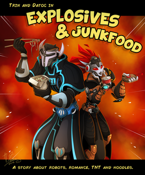 AT_Explosives and Junkfood by Retromissile
