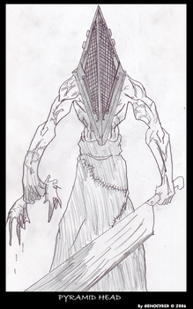 Pyramid Head by MobianMonster