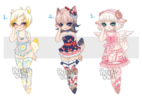 Dainty Food Collab- Flat Price- {CLOSED} by Pajuxi-Adopts