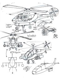 Draw Helicopters by Diana-Huang