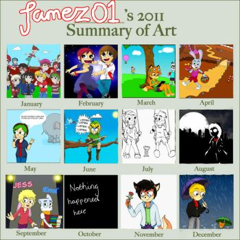 A Year of Art 2011 by StudioFezz