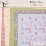 FREE Digital Paper Pack May Day by Rene Blooms by SunnyFunLane