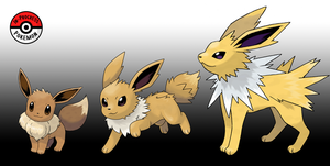 133 - 135 Jolteon Line