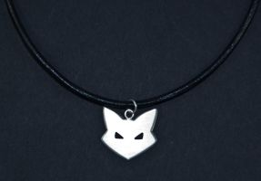 Catwoman necklace by obsidiandevil