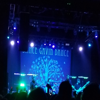 Dance Gavin Dance live in Philly by ATwistintheMyth