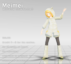 MOTION DL | Meimei by V--R