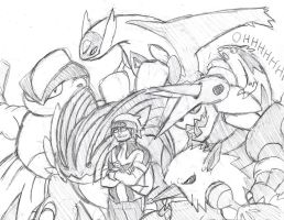 My Pokemon Omega Ruby team
