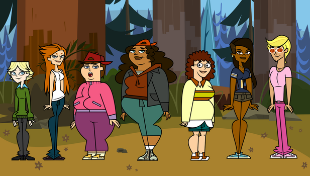 Total Drama Revenge of the Island. Gender Bender. by MrChillie