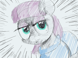 Maud's Serious Face by baratus93