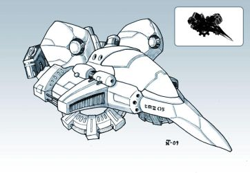 Space-Jet Concept by Nether83